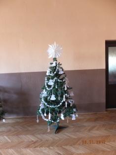 Zdobili jsme stromečky na vánoční jarmark