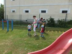 Sportovní odpoledne na školní zahradě