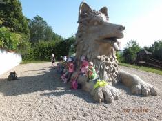 Návštěva Kozinova statku v Újezdě