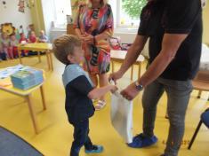 Rozloučení s předškoláky